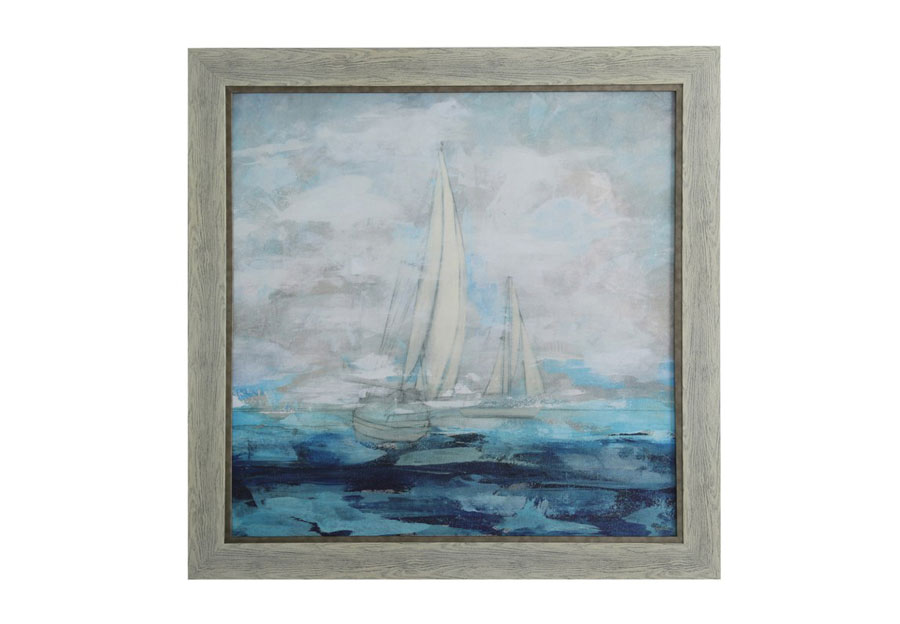 "StyleCraft Sailboat - 43"" x 43"""