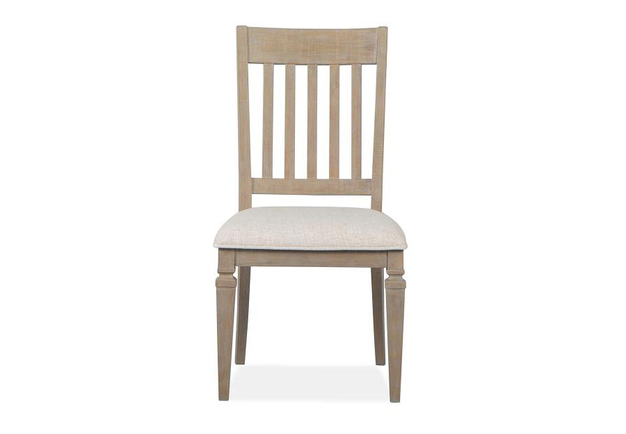 Magnussen Lancaster Dining Side Chair with Upholstered Seat