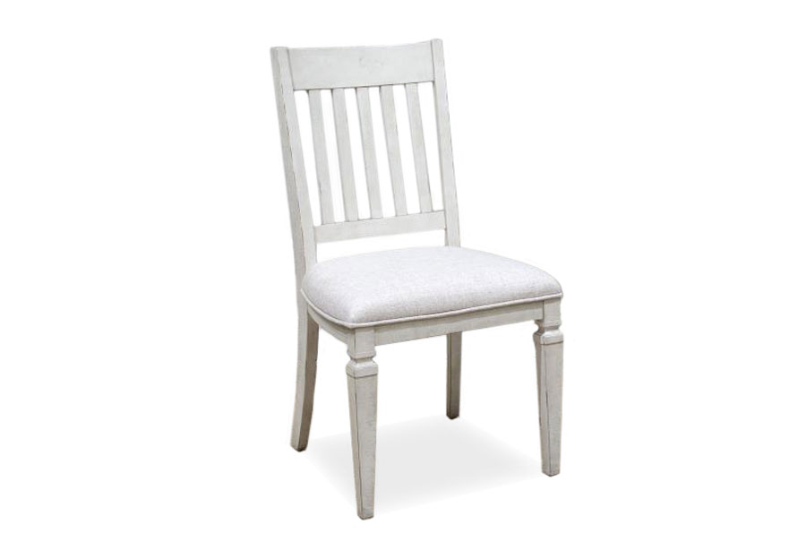 Magnussen Newport Dining Side Chair with Upholstered Seat