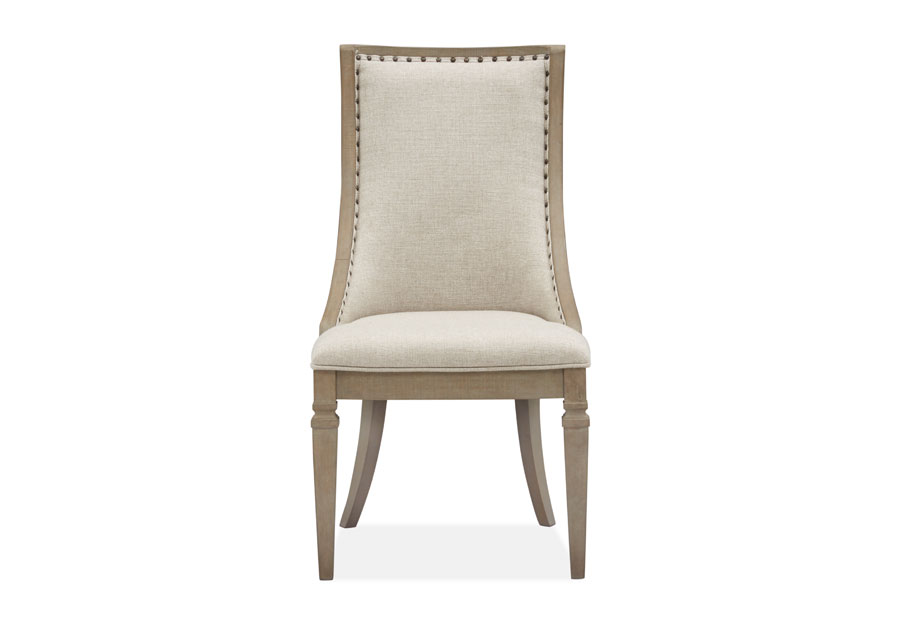 Magnussen Lancaster Sling Chair with Upholstered Seat