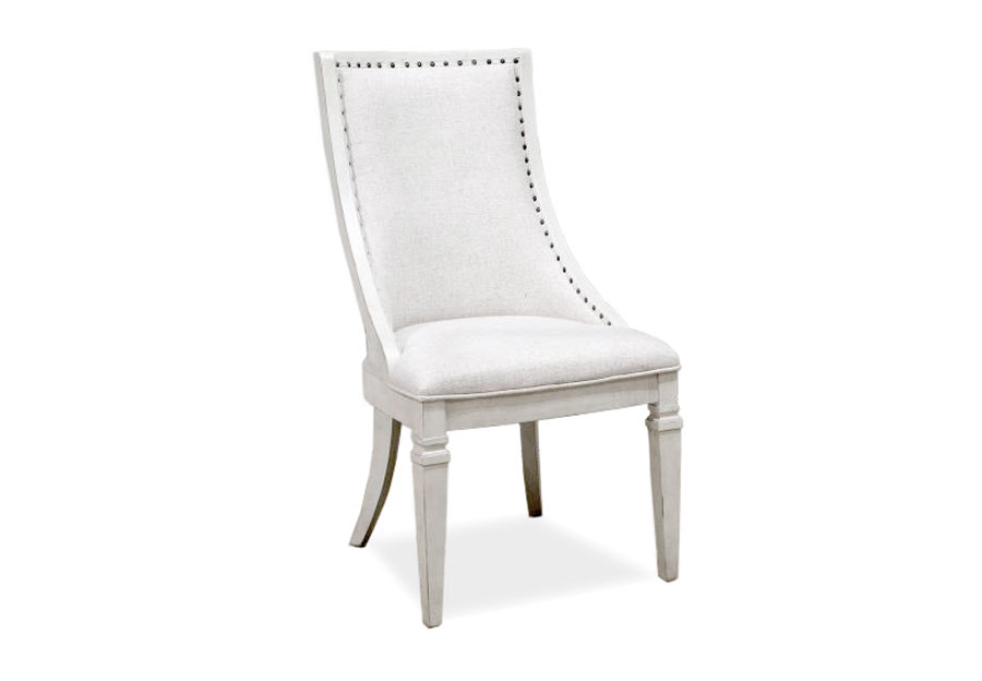 Magnussen Newport Sling Chair with Upholstered Seat