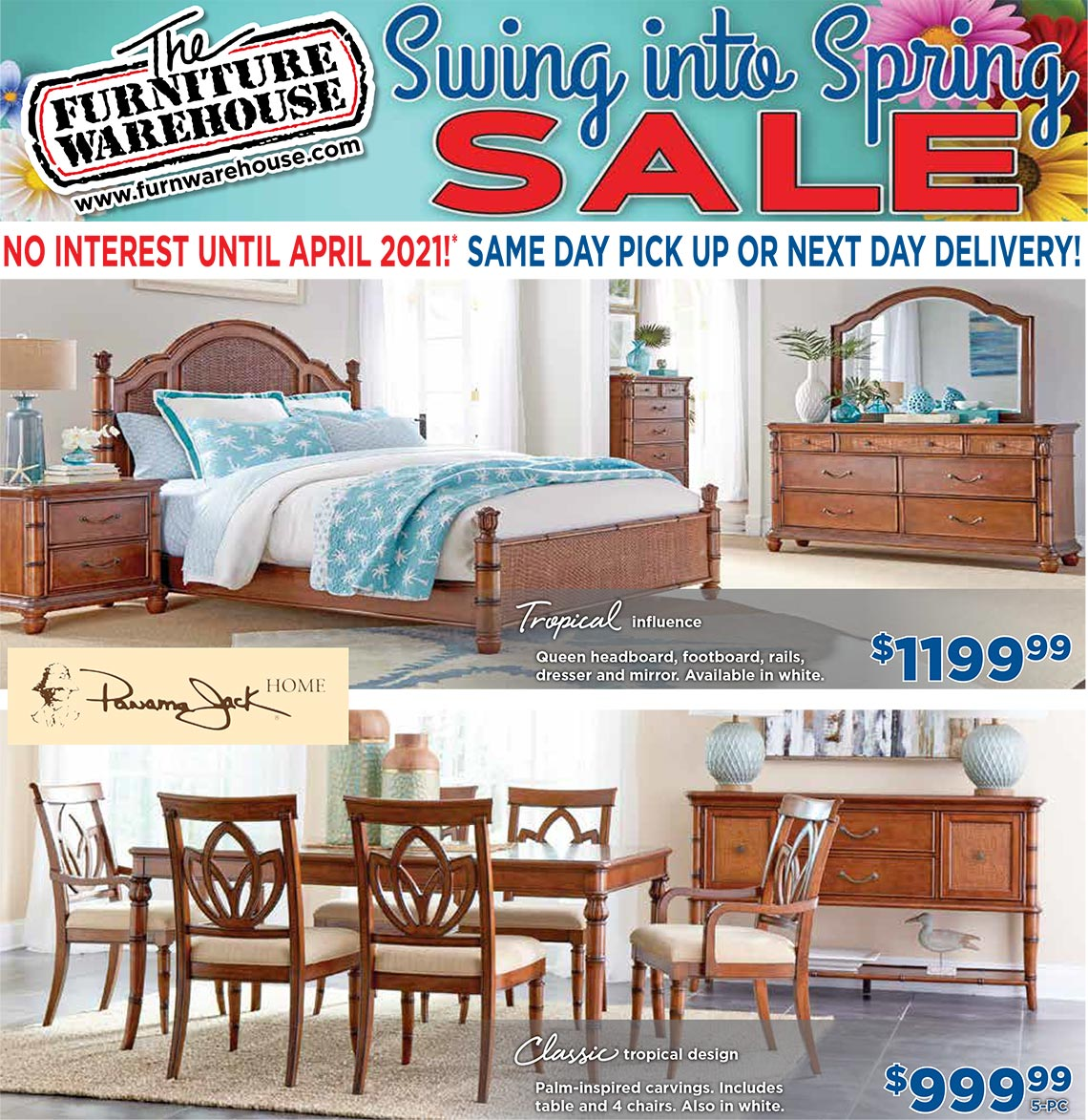 The Furniture Warehouse Newspaper - Page 1