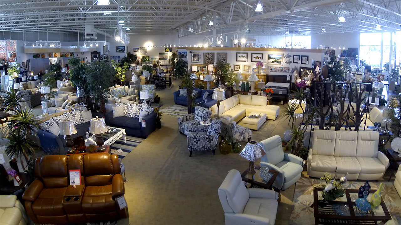Furniture Warehouse - Inside View